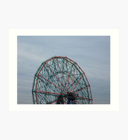 Coney Island No.10 Art Print
