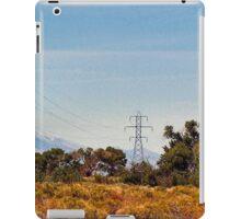 Cracklin'  wire above the river iPad Case/Skin