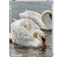 Mr & Mrs Swan iPad Case/Skin