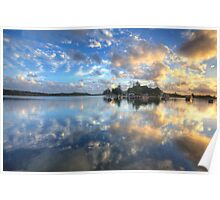 Maroochy River Reflections-1617 Poster