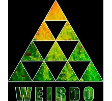 Weirdo Funny Geek Nerd Photographic Print