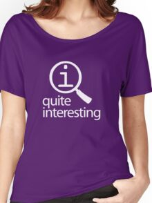 QI: Quite Interesting Women's Relaxed Fit T-Shirt