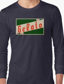 retro gelato Long Sleeve T-Shirt