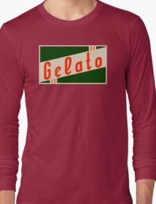retro gelato Long Sleeve T-Shirt