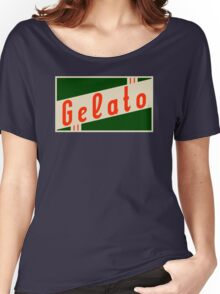 retro gelato Women's Relaxed Fit T-Shirt