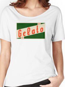 retro gelato Women's Relaxed Fit T-Shirt