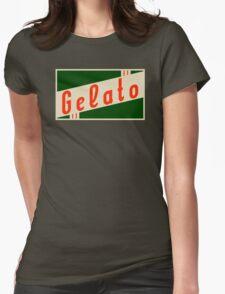 retro gelato Womens Fitted T-Shirt