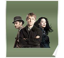 Dr. Watsons - Three Representations. Poster
