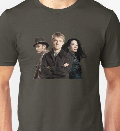 Dr. Watsons - Three Representations. Unisex T-Shirt