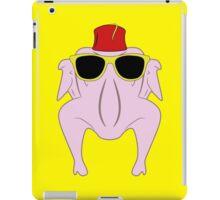 Turkey wearing sunglasses and a fez iPad Case/Skin