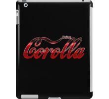 Corolla Coca Cola iPad Case/Skin
