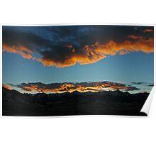Westcliffe Sunset Poster