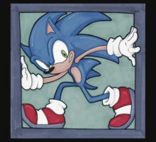Sonic the Hedgehog 02 by jfells