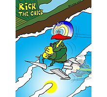 "Rick the chick ""SOUND BARRIER"" Photographic Print"