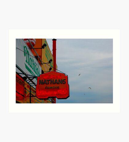 Coney Island No.18 Art Print