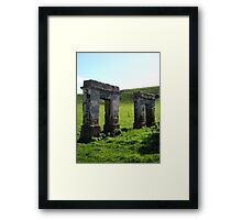 Parts of the Past Framed Print