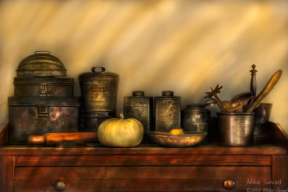Kitchen Still Life by Mike  Savad