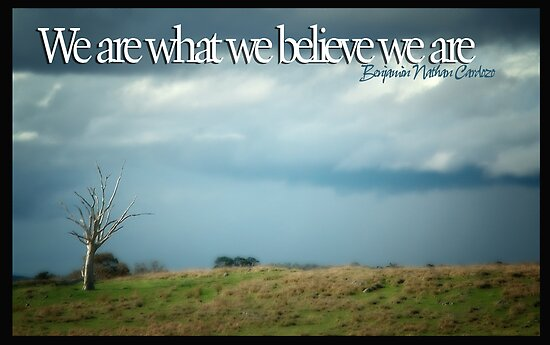 We Are What We Believe We Are © by Vicki Ferrari