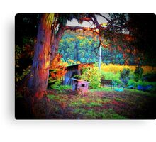 Home, Sweet Home in the Doghouse Canvas Print