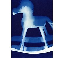 Rocking Horse Photographic Print