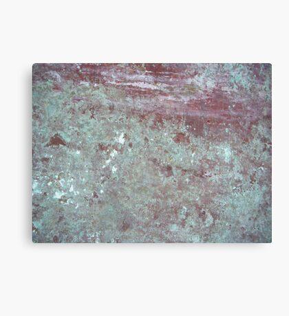 Patina Wall Canvas Print