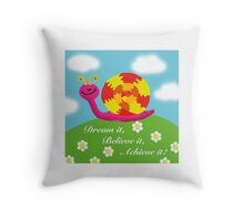 Snail - Hannah Walter Throw Pillow