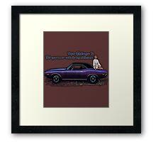 1970 Challenger Framed Print