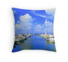 Port Stephens Throw Pillow