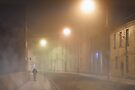 Walking In a Galway Fog - Ireland by Mark Tisdale