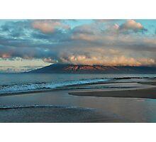 Maui Dawn Cloudscape Photographic Print