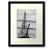 Of Sailing Ships... Framed Print