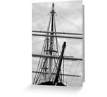 Of Sailing Ships... Greeting Card