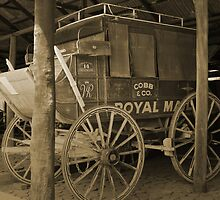 Old Carriage by Evita