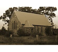 Unknown and Abandoned Church Photographic Print