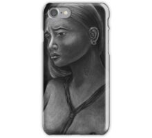 Yapese Girl - Yap Island, Micronesia iPhone Case/Skin