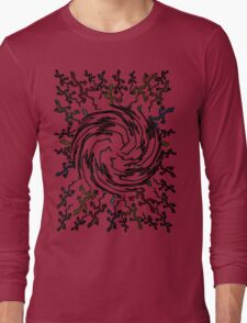 many running lizards Long Sleeve T-Shirt