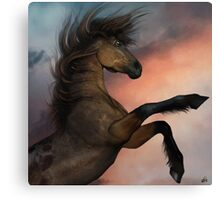 The Mighty Stallion Canvas Print