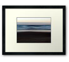 Beach Impressions #4  Framed Print