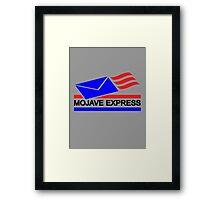 Mojave Express Framed Print