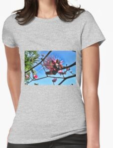 Shaving Brush Tree 3 Womens Fitted T-Shirt