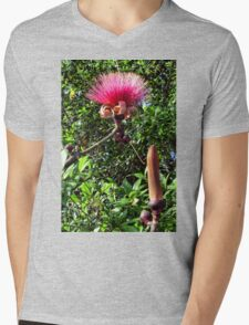 Shaving Brush Tree 4 Mens V-Neck T-Shirt