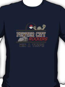 Pewter City Rockers! - Pokémon Print T-Shirt