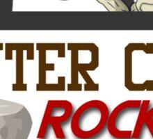 Pewter City Rockers! - Pokémon Print Sticker