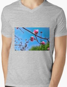 Shaving Brush Tree 8 Mens V-Neck T-Shirt
