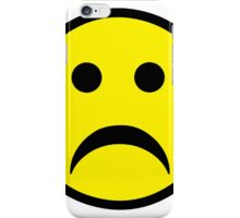 Sad Smiley iPhone Case/Skin