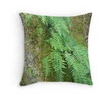 """Clinging Ferns"" Throw Pillow"