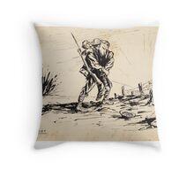 His Cobber Throw Pillow