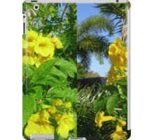 The Flavor of Lemon Flower iPad Case/Skin