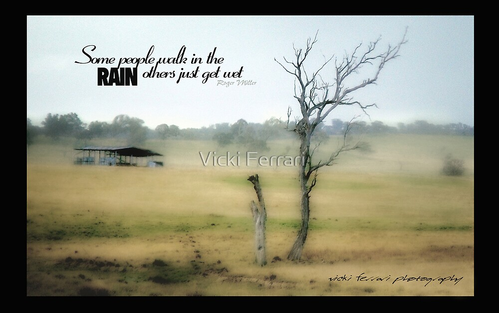 Some People Walk in the Rain © Vicki Ferrari Photography by Vicki Ferrari