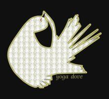 Yoga Dove by Trish Peach